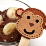 Frozen Monkey Chocolate Pudding