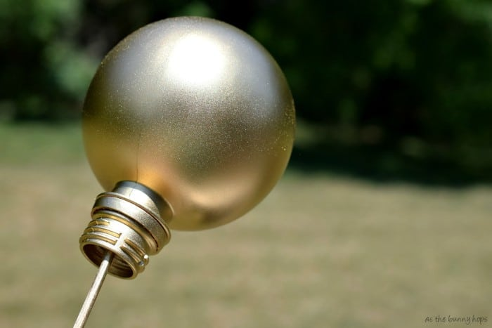 Gold Spray Paint AquaBall