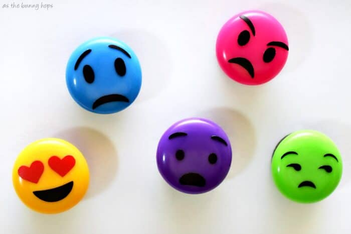 Inside Out Emoji Magnets