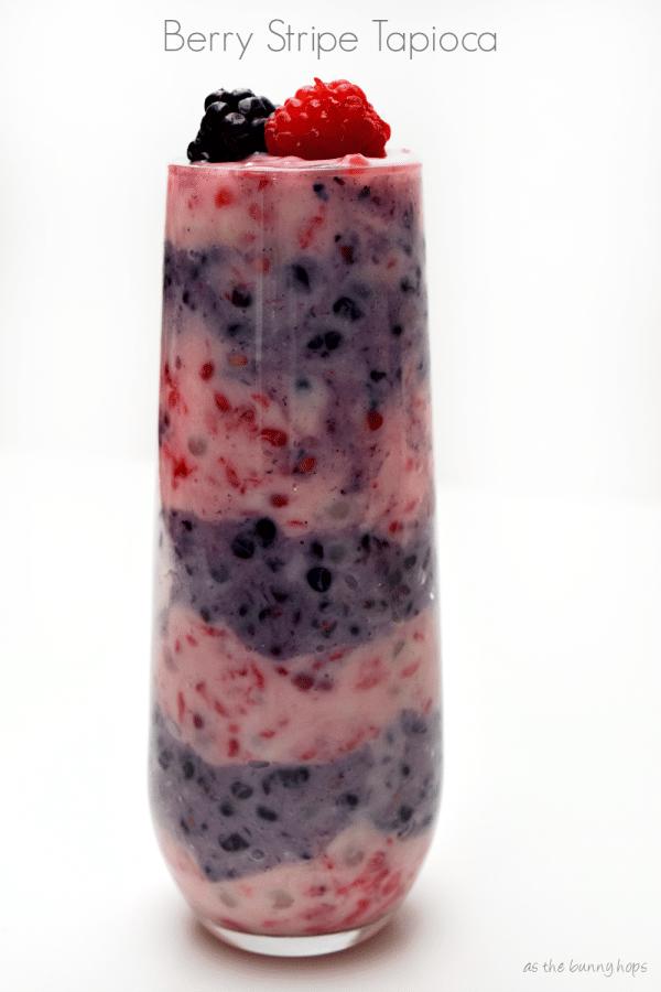 Berry Stripe Tapioca