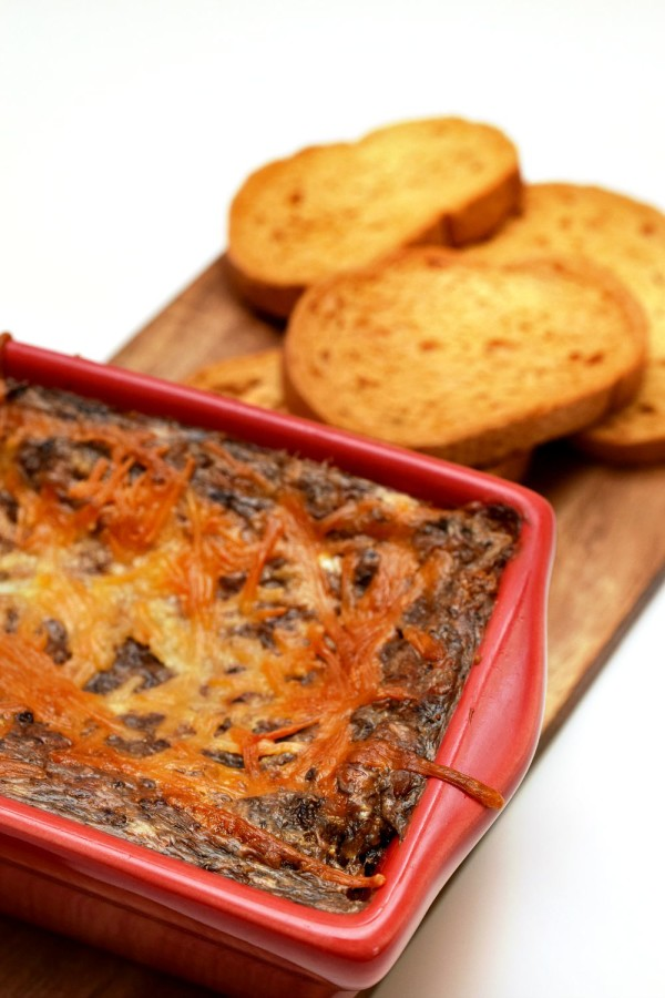 Easy and delicious cream mushroom spread is the perfect comfort food.