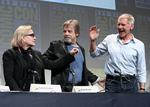 Comic-Con Star Wars Panel