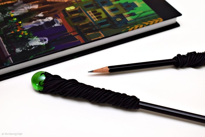 Maleficent Staff Pencils