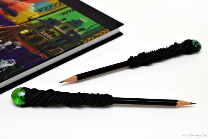 Maleficent Staff Pencils Long