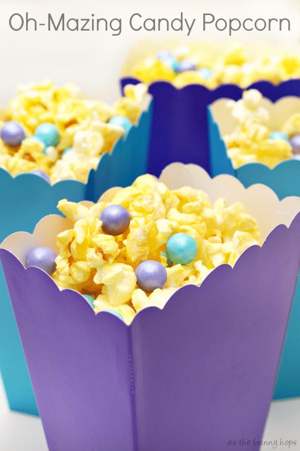 Oh-Mazing Candy Popcorn