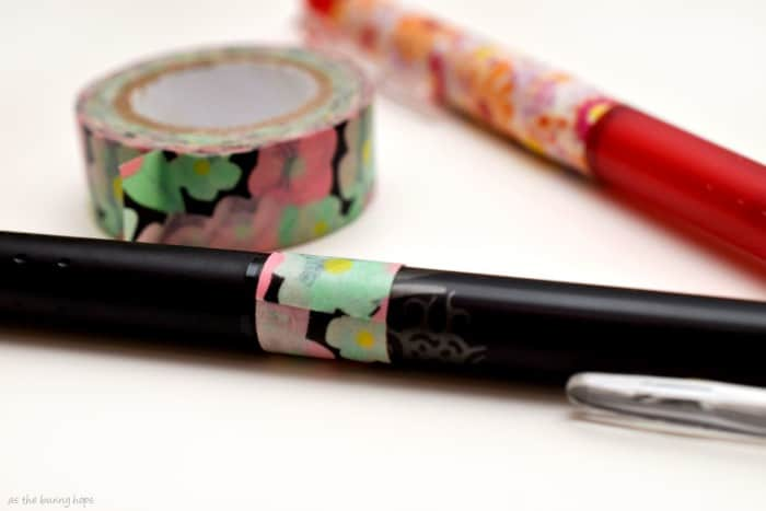 Pen with Washi