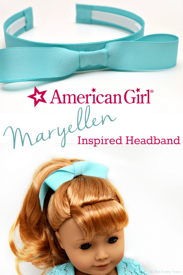 American Girl Maryellen Inspired Headband