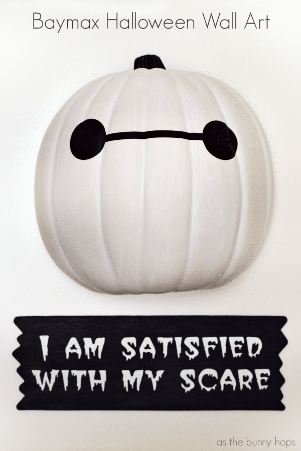 Baymax Halloween Wall Art