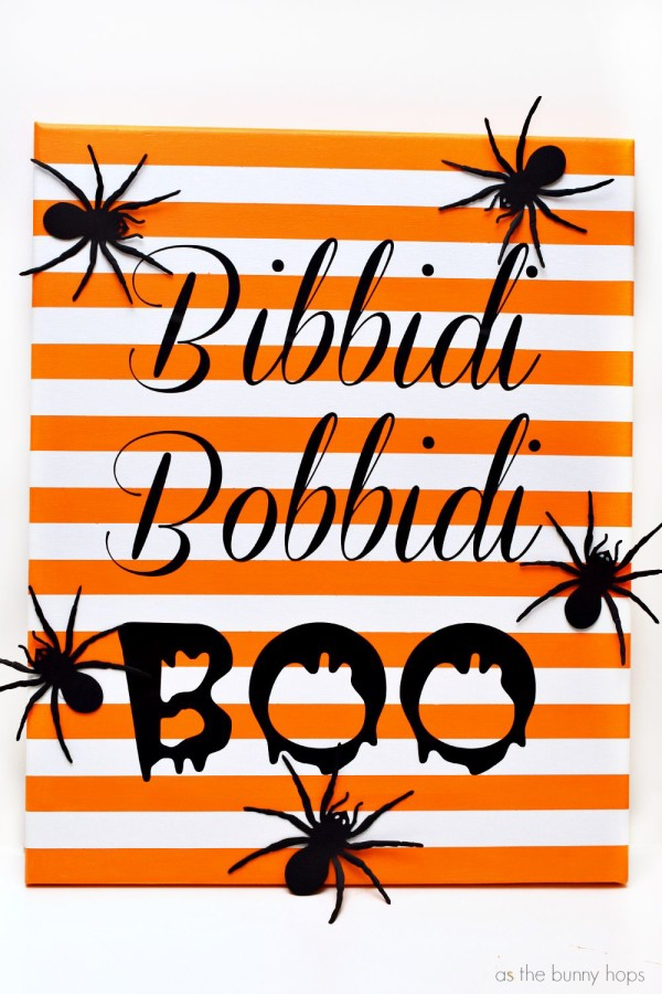 Make a fun Bibbidi Bobbidi Boo Art project. Printable and cut file instructions included!