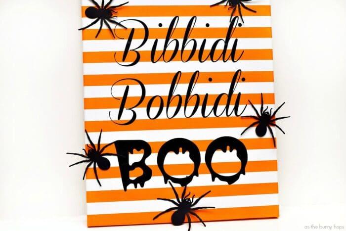 Bibbidi Bobbidi Boo Canvas