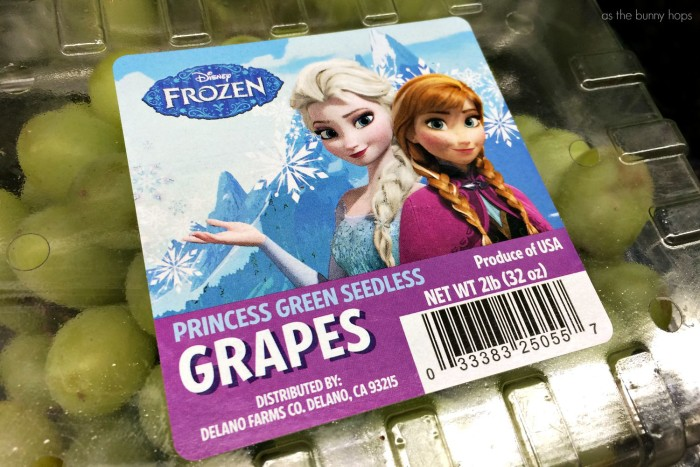 FROZEN Grapes Package
