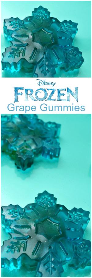 Frozen Grape Gummies