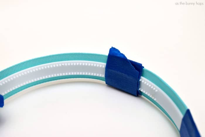 Headband with Tape