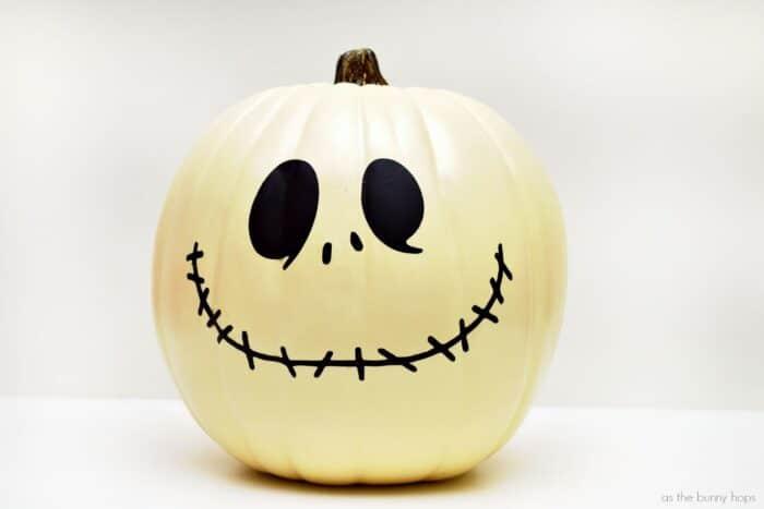 Jack Skellington Pumpkin Pattern and Cut File