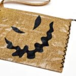 Oogie Boogie Inspired Duct Tape Bag