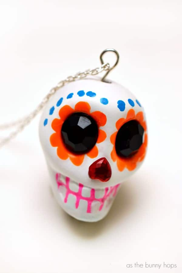 Make a sugar skull pendant inspired by Disney-Pixar's Coco!
