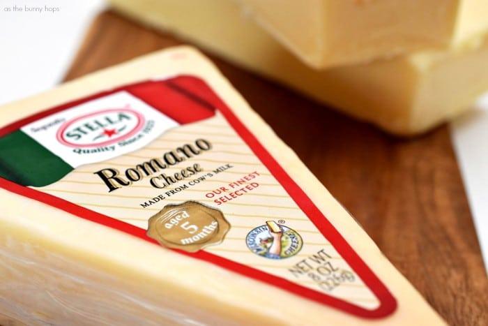 Stella Romano Cheese