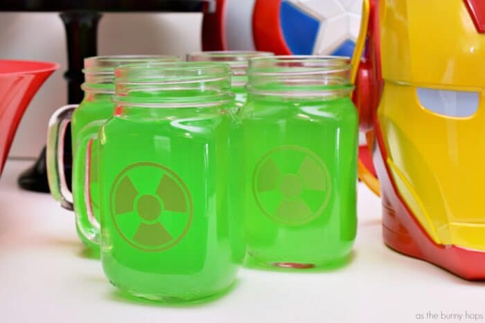 Hulk Drink Glasses Cut File