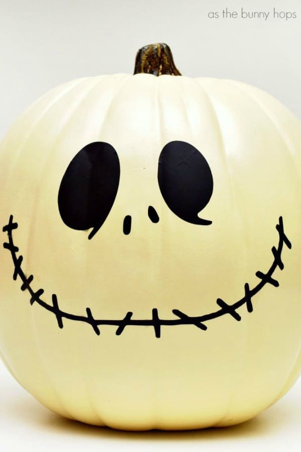 Jack Skellington Pumpkin Cut File and Pattern