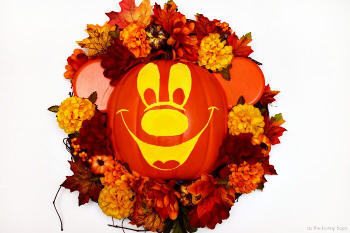 Mickey's Not-So-Scary Halloween Wreath