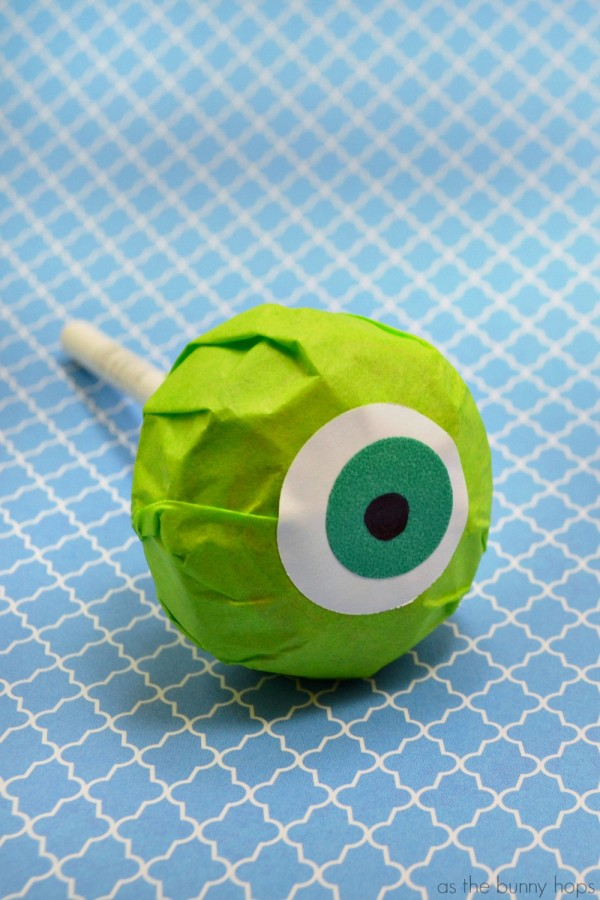 Mike Wazowski Lollipops