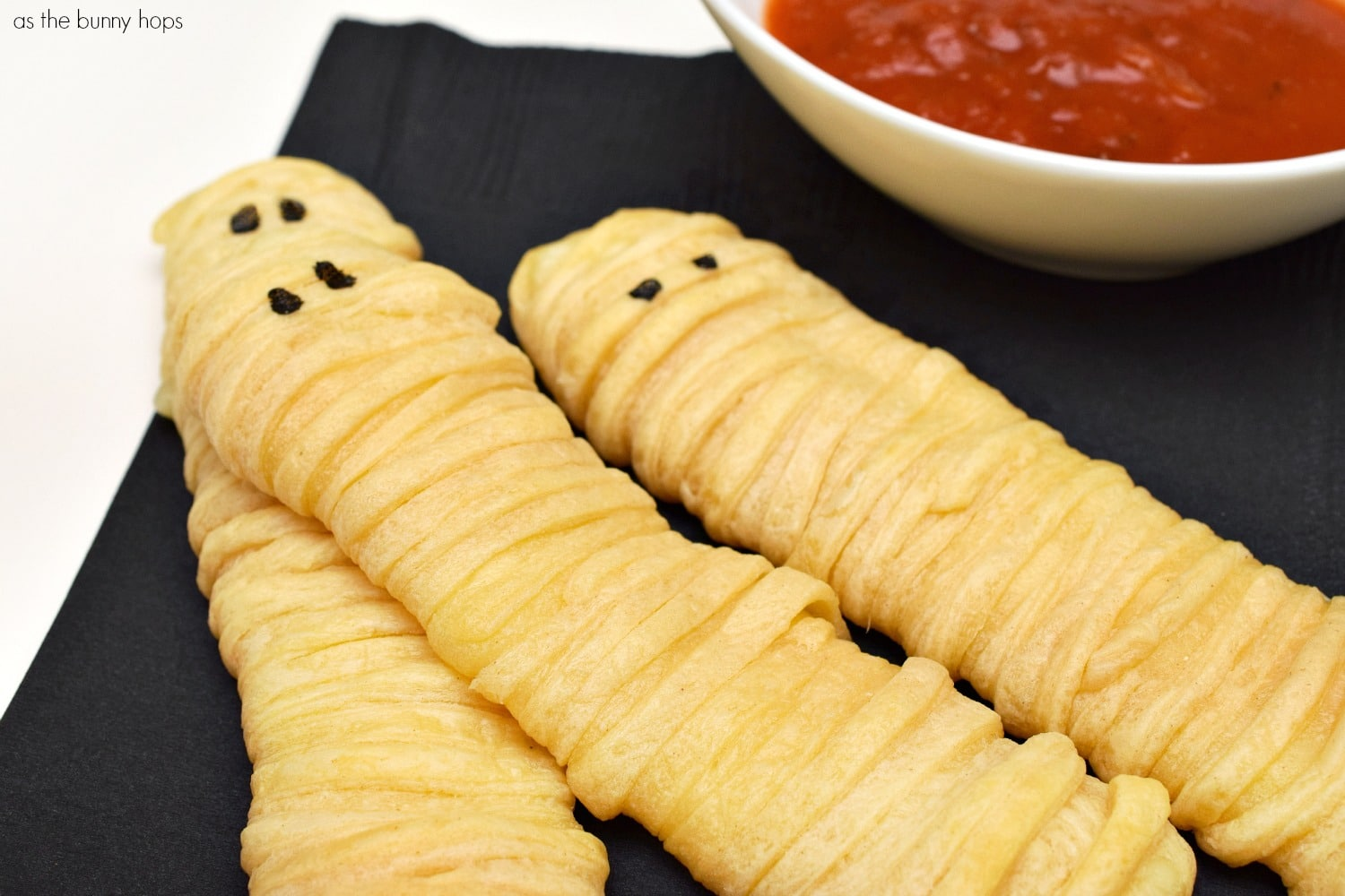 Easy Mummy Cheese Sticks - As The Bunny Hops
