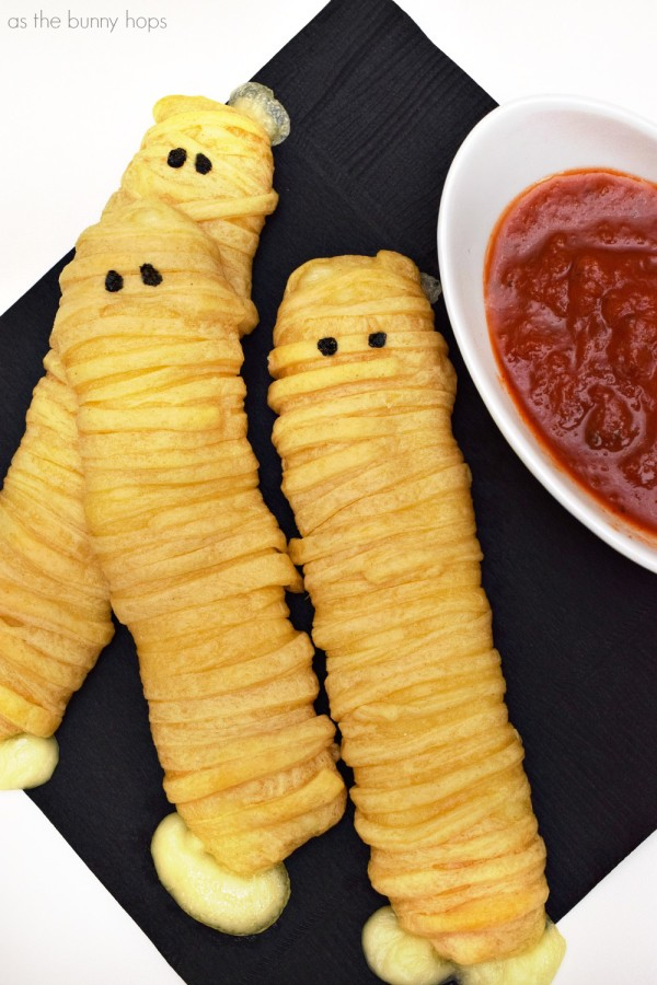 Mummy Cheese Sticks