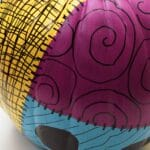 Hand-Painted Sally Pumpkin