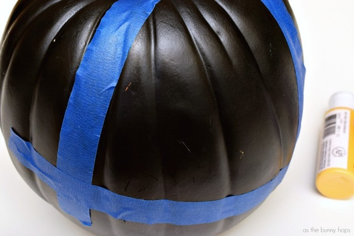 Taped Pumpkin