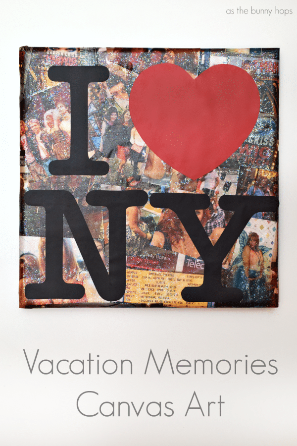 Vacation Memories Canvas Art