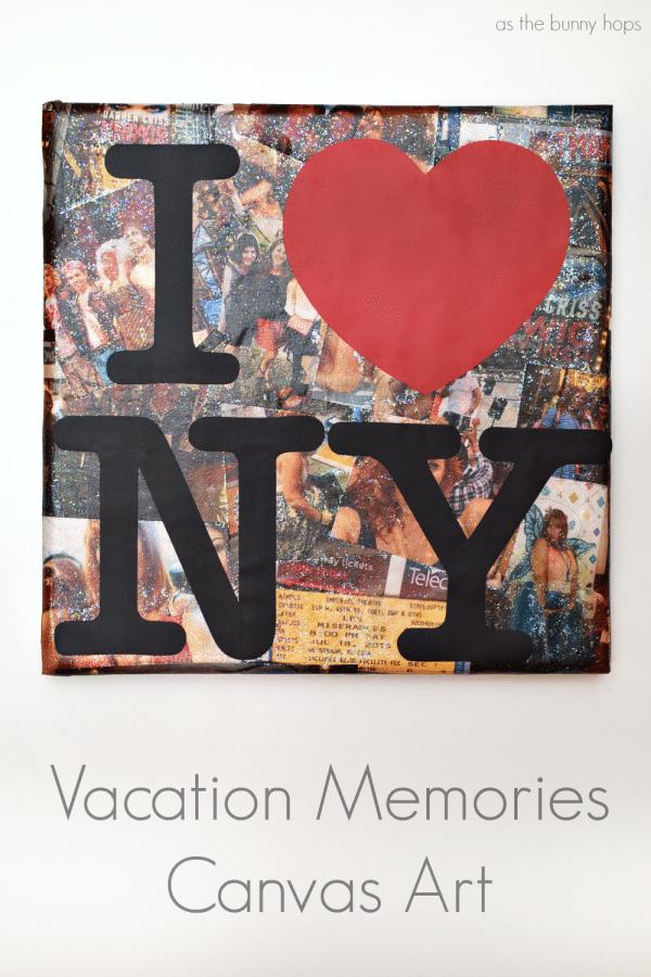 Vacation Memories Canvas Art