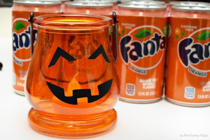 jack o lantern Jar light