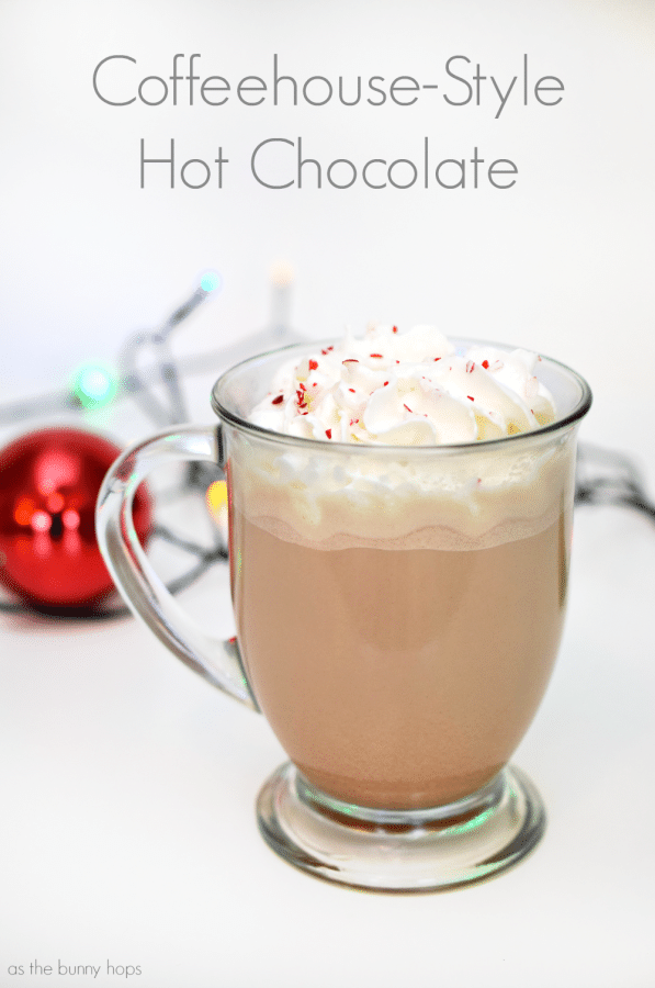 Coffeehouse Style Hot Chocolate