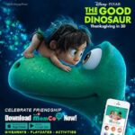 The Good Dinosaur partners with MomCo