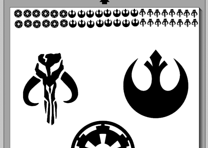 Star Wars Cut File