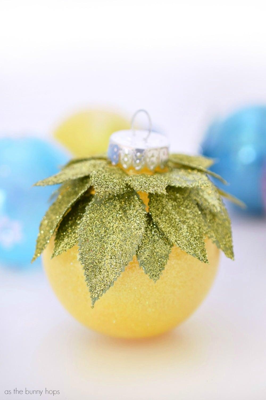 Disney princess inspired christmas ornaments as the bunny hops diy tiana ornament solutioingenieria Gallery