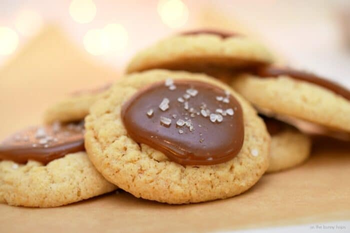 Salted Caramel Cookies