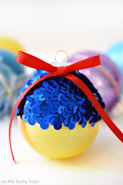 Disney Princess-Inspired Christmas Ornaments - As The ...