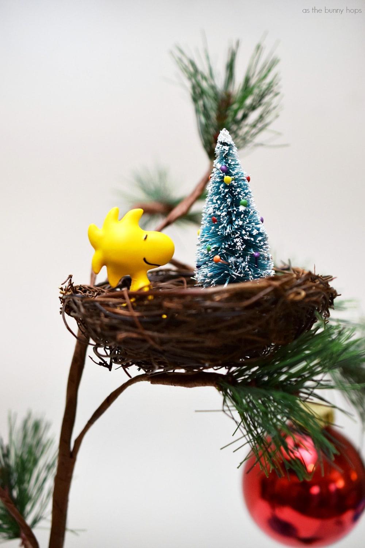 Woodstock Christmas Nest Ornament - As The Bunny Hops®