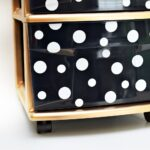 Kate Spade-Inspired Storage Cart