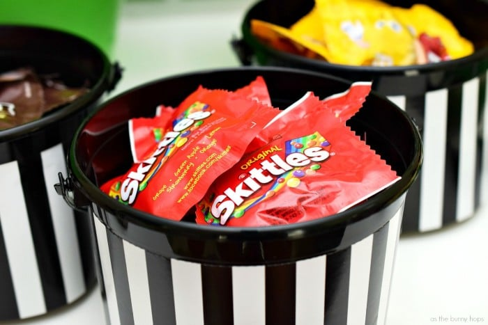 Referee Candy Buckets