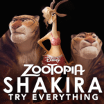 "New Music Video for Shakira's ""Try Everything"" from Zootopia"