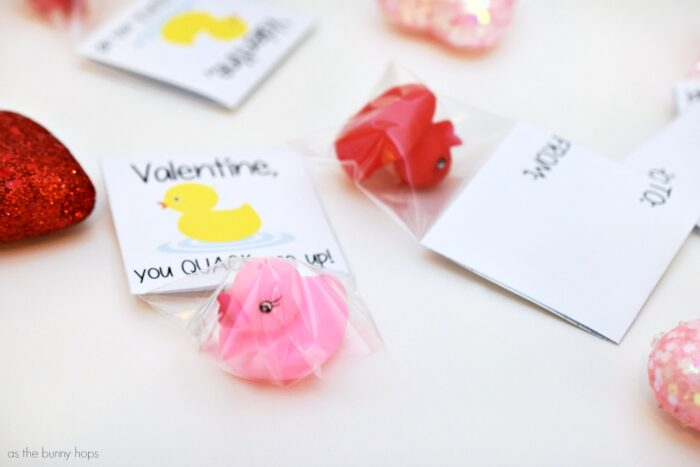 Rubber Ducky Printable Valentines