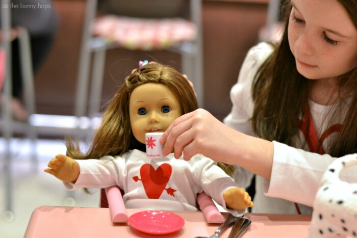 A Birthday Lunch at American Girl Bistro