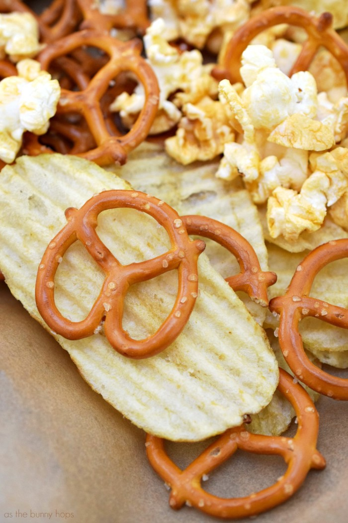 Chips Popcorn Pretzels