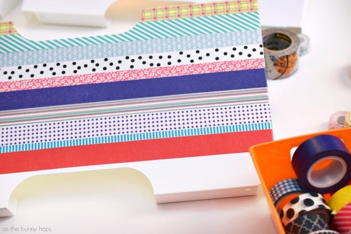 Washi Tape File Boxes