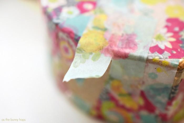 Bending Washi Tape