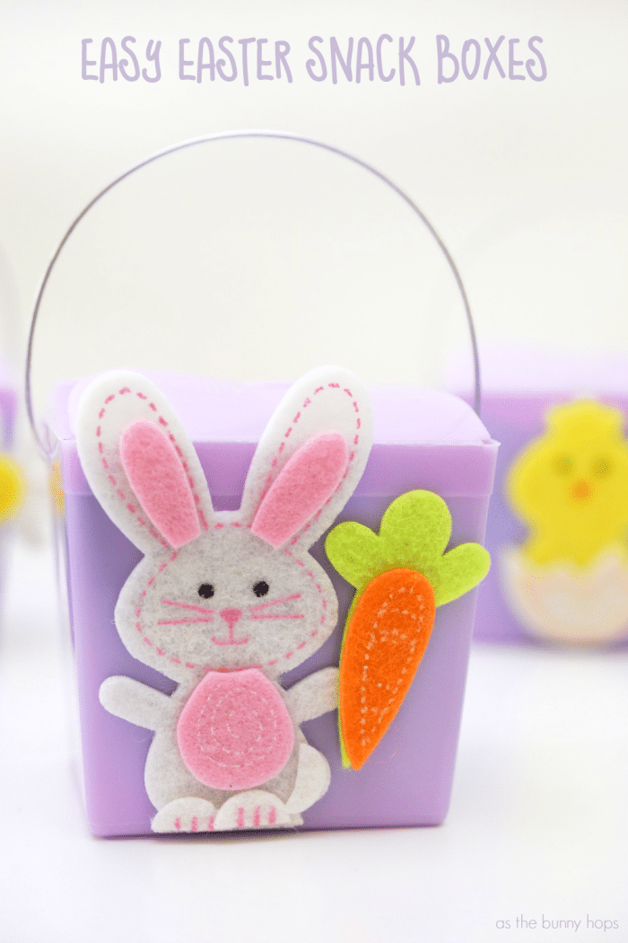 Easter Snack Boxes Text