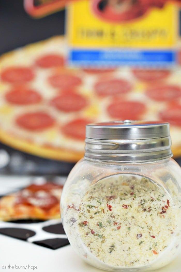 Pizza and Parmesan Pizza Seasoning