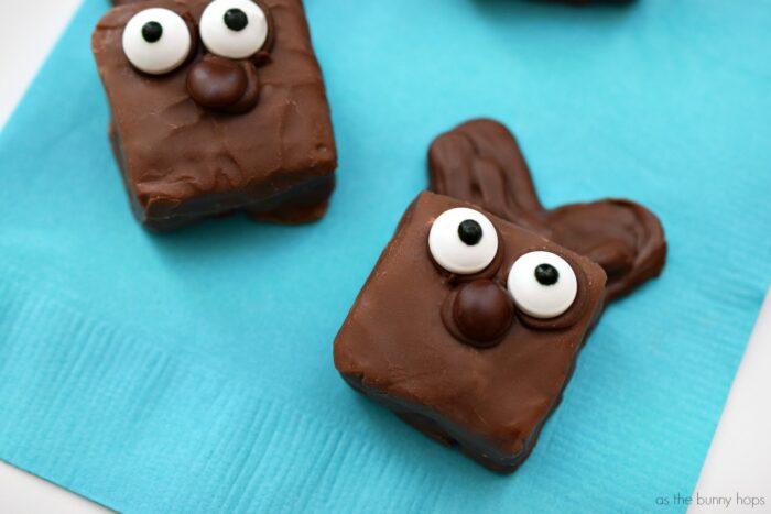 Easy Snickers Bunnies